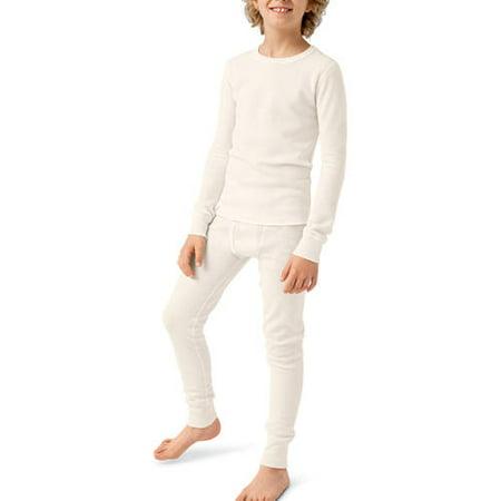 Hanes Boy's Thermal Underwear Set - Walmart.com