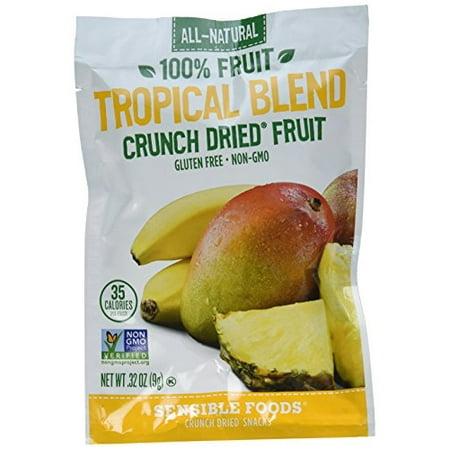 Sensible Chip Tropical Blend 0.32 OZ (Pack of 48) (Blended Mango Fruit)