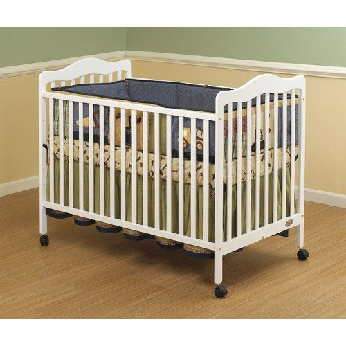 Orbelle Trading Emma 3-in-1 Convertible Crib in White