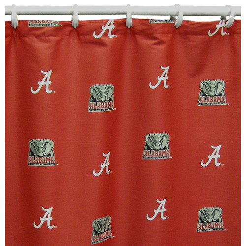 Alabama Printed Shower Curtain Cover