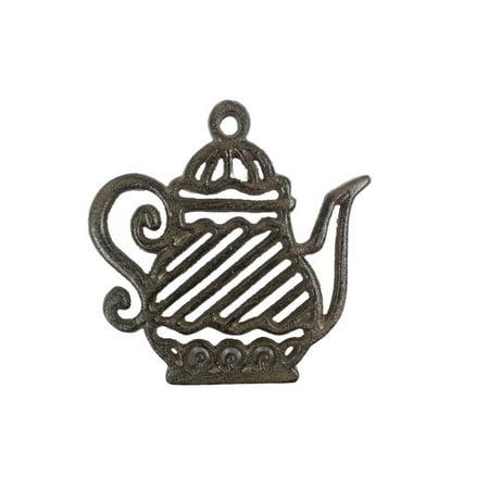 Cast Iron Teapot Trivet - Cast Iron Teapot Trivet 9