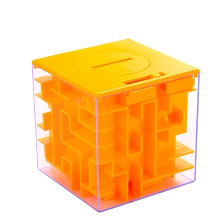 Cube Money Maze Bank Amazing Money Puzzle Box For Kids And Adults Coin Cash Bills Gift Cards Storage Boxes Brain Teasers And Inexpensive Game As