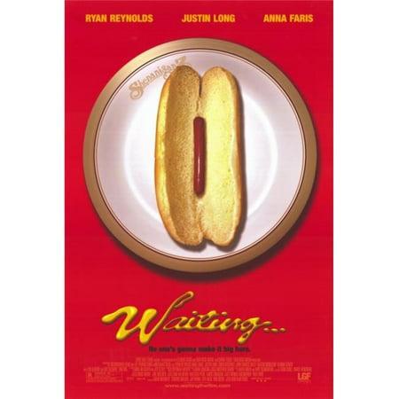 Pop Culture Graphics MOVIF9644 Waiting Movie Poster Print, 27 x 40 - image 1 de 1