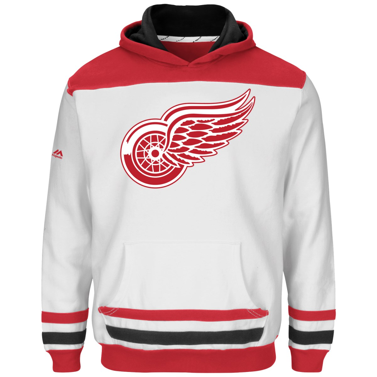 """Lee Sport Detroit Red Wings Youth Majestic NHL """"Lil' Doub..."""