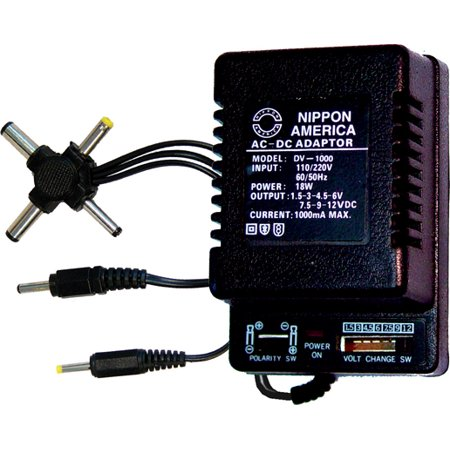 AC ADAPTER 1000mA NIPPON