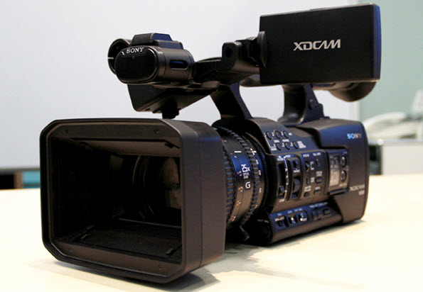 Sony PXW-X160 Full HD XDCAM Handheld Camcorder by Sony