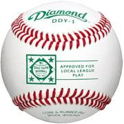 Diamond NBC-JET Official League Baseballs, 12 Pack
