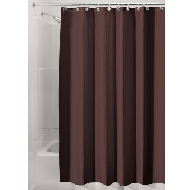 Interdesign Waterproof Fabric Shower, What Does Stall Size Shower Curtain Mean