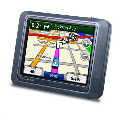 "Garmin nuvi 205 3.5"" Portable GPS, Black"