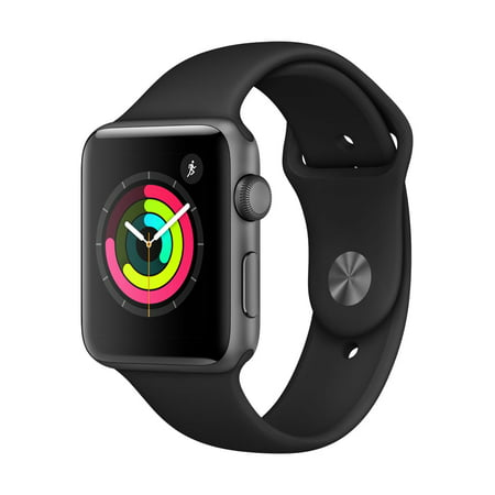 Apple Watch Series 3 GPS - 42mm - Sport Band - Aluminum Case (Bushnell Neo Gps Watch)