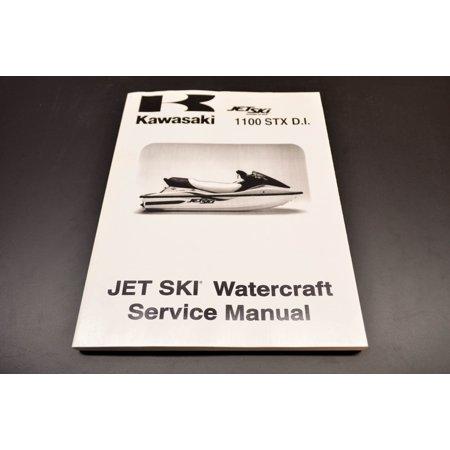 Kawasaki 99924-1256-02 1100 STX D.I. Service Manual 00-01 Jet Ski 1100 STX D.I. QTY 1