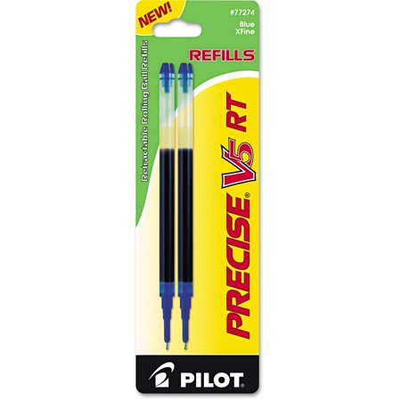 Refill for Precise V5 RT Rolling Ball, Extra Fine, Blue Ink,