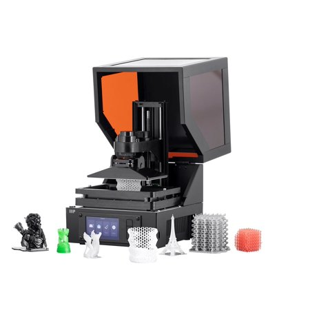 Monoprice MP Mini SLA LCD High Resolution Resin 3D Printer (118 x 65 x 110 mm) Build Area, Auto Leveling, Wi-Fi Web UI, 2K LCD Curing