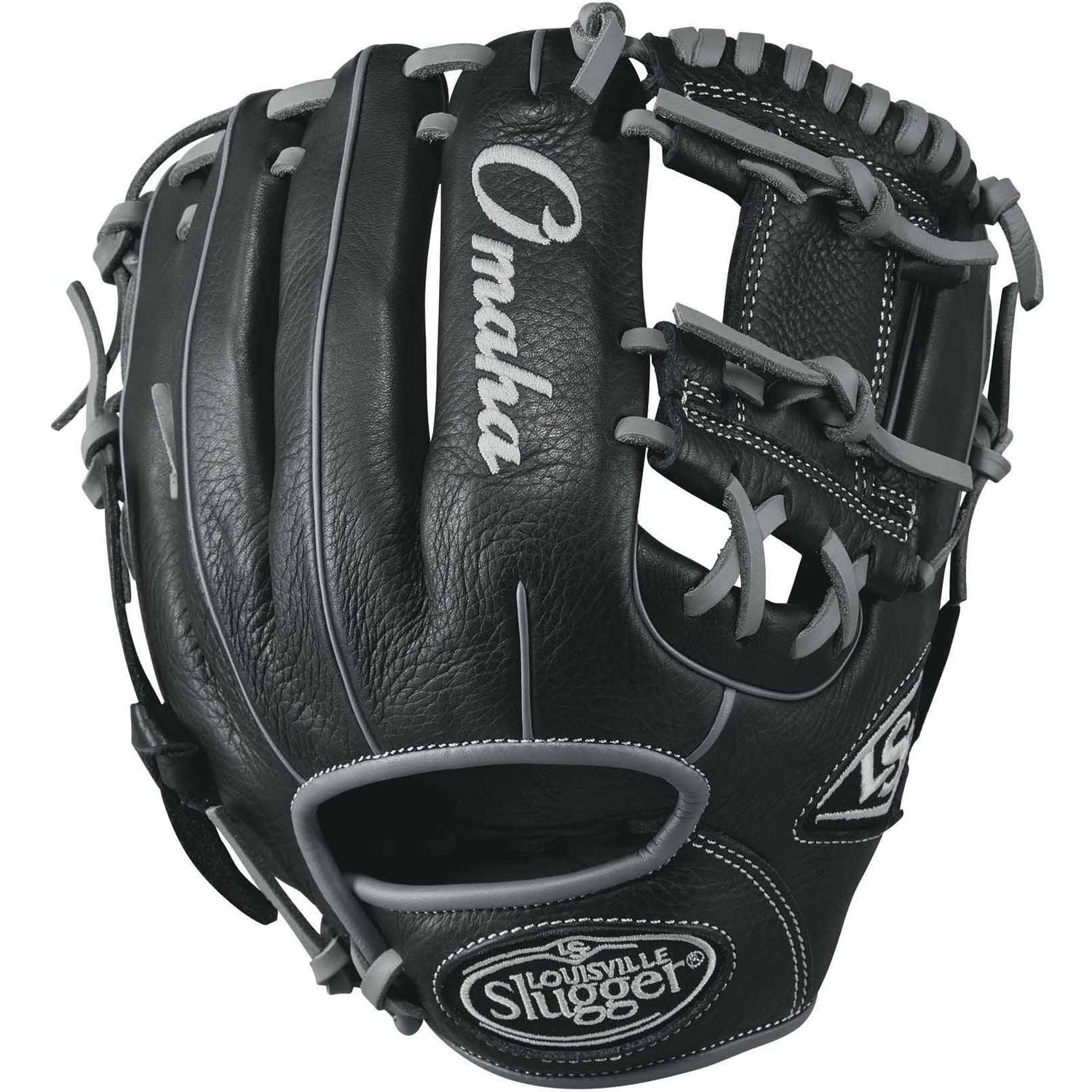 Click here to buy Louisville Slugger Omaha Baseball Glove, Multiple Sizes by Louisville Slugger.