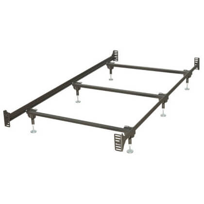BBT13WB Bolt Up Steel Super Duty/Waterbed Frame (Twin)