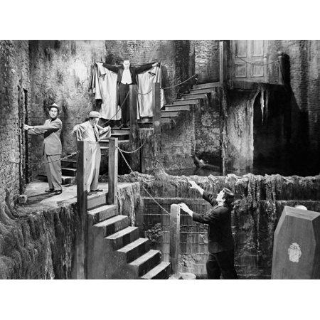 Abbott and Costello Meet Frankenstein, 1948 Print Wall