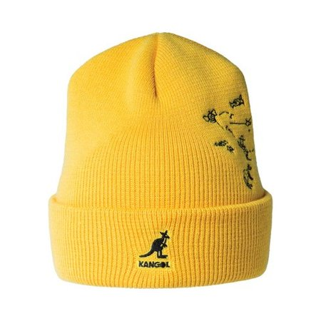 Men's Kangol Rock Art Reversible Beanie](Keystone Cop Hat)