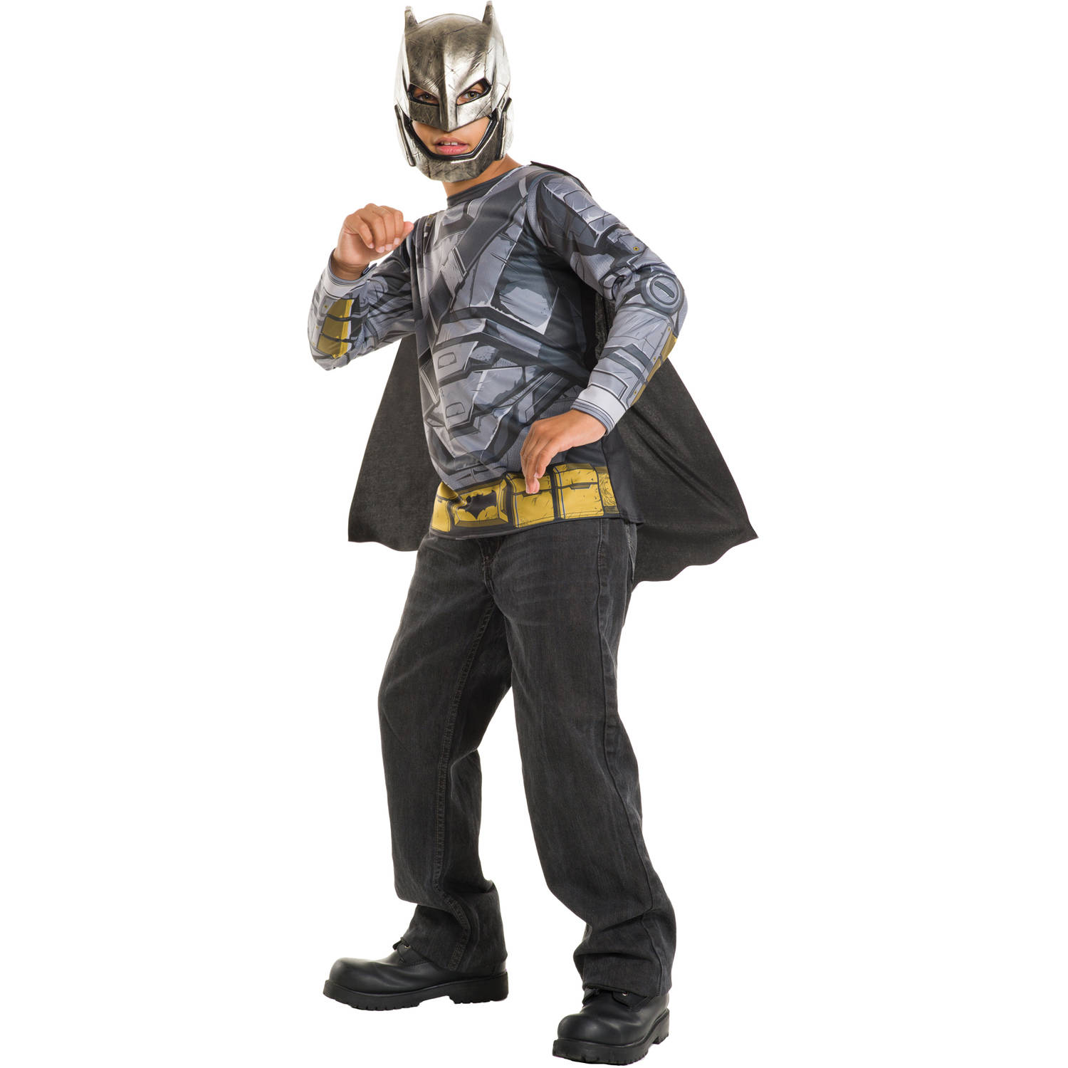 Armored Batman Top Child Halloween Costume