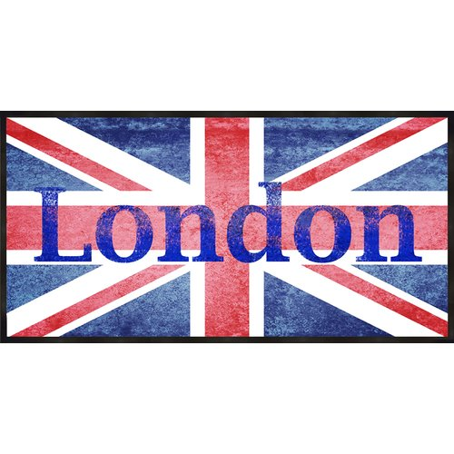 PTM Images London Flag Framed Graphic Art