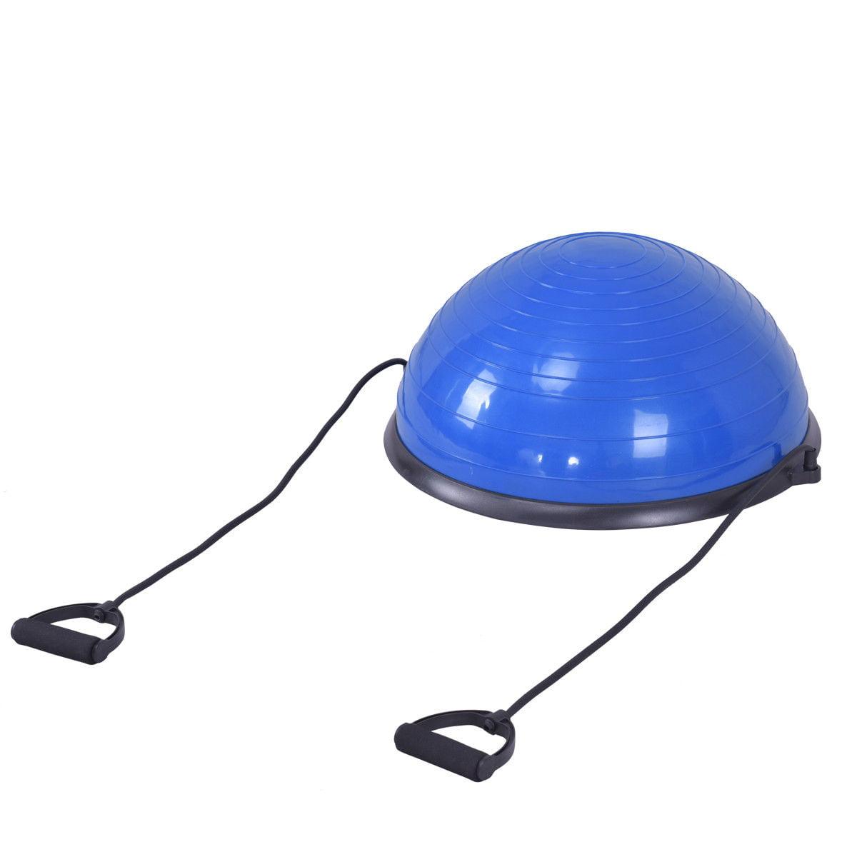 "23"" Blue Yoga Ball Balance Trainer w/ Pump Home Exercise Training Fitness - image 6 de 8"