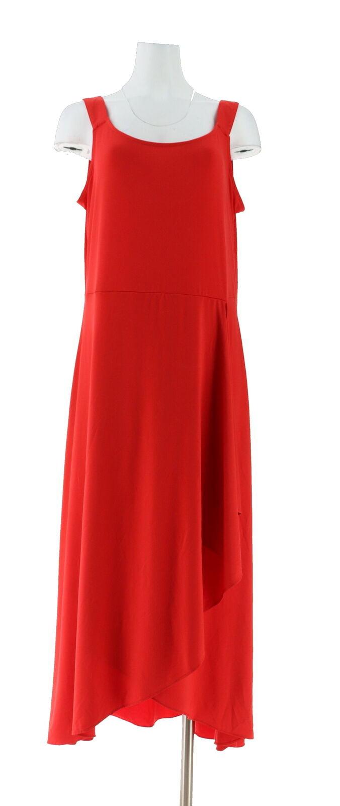 BROOKE SHIELDS Timeless Petite Slvless Maxi Dress A307771