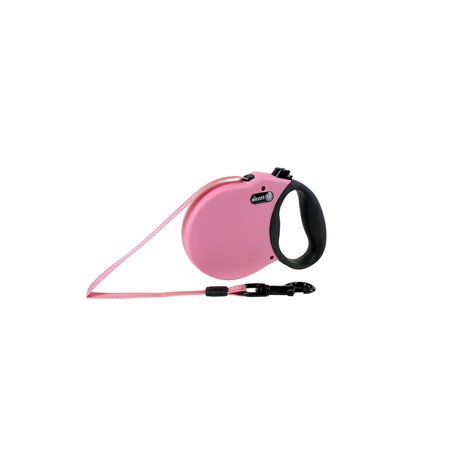 Alcott Retractable Adventure Pet Leash Extra Small 10FT Pink