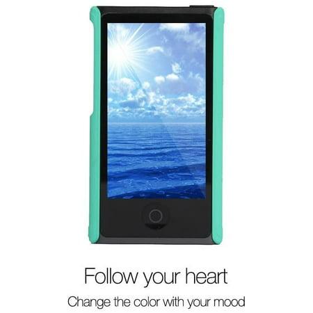 Tranesca Ultra Slim Protective Case for iPod Nano 7&8th Generation.(Sea Green) - image 2 de 4
