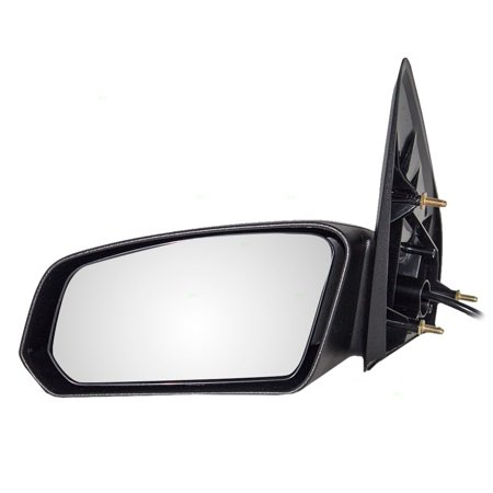 BROCK Power Side View Mirror Textured Driver Replacement for 03-07 Saturn Ion Sedan (2004 Saturn Ion Rear View Mirror Loose)