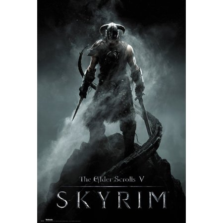 The Elder Scrolls V: Skyrim - Gaming Poster / Print (Dragonborn)