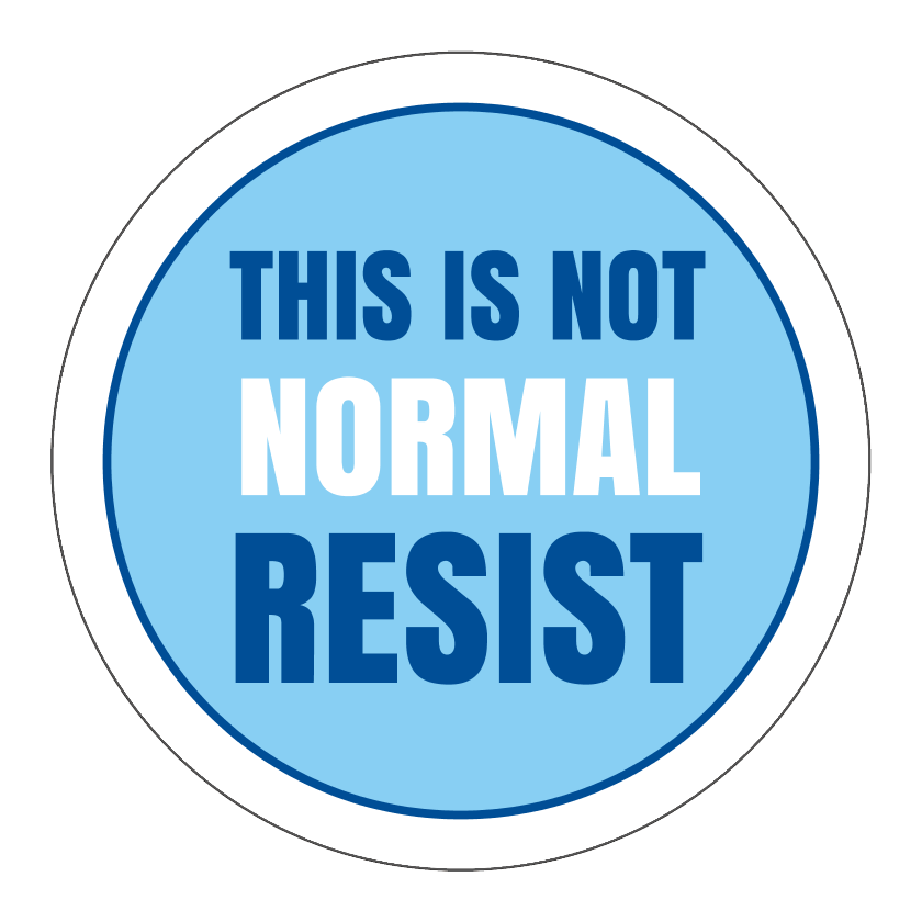 Circle Stickers - This Is Not Normal - Set of 12