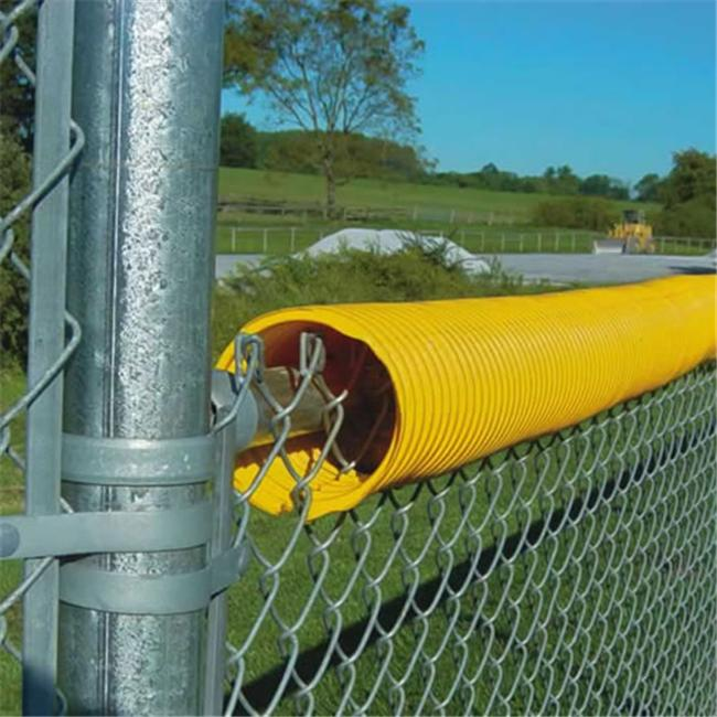 Jaypro Sports CFC-100YW 100 ft.  Coil Fence Crown - Yellow