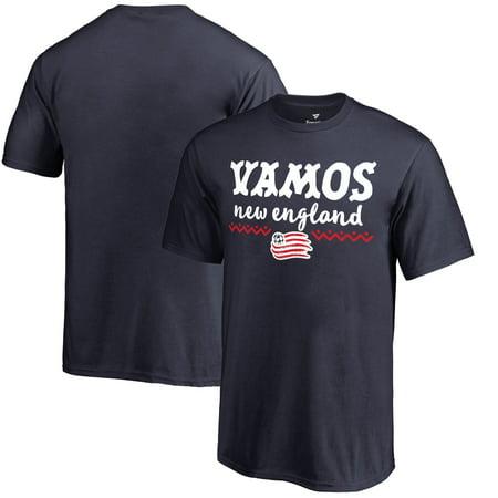 New England Revolution Fanatics Branded Youth Hispanic Heritage Let's Go T-Shirt - -