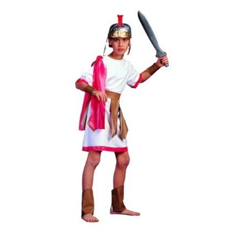 Roman Gladiator Costume - Size Child Small 4-6 - Roman Gladiators Kids