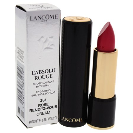 Lancome LAbsolu Rouge Hydrating Shaping Lipcolor - # 381 Rose Rendez-Vous - Cream 0.12 oz Lipstick