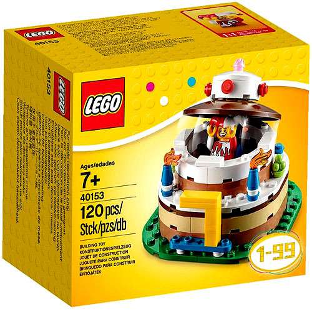 Logo Snack Table - LEGO Birthday Table Decoration Set #40153