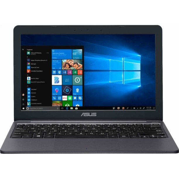 "ASUS - 11.6"" Laptop - Intel Celeron - 2GB Memory - 32GB eMMC Flash Memory - Star Gray Model: E203MA-TBCL232A Notebook PC Computer"