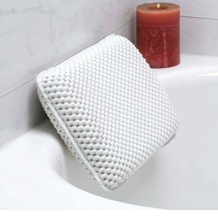 Bath Foam Spa Bath Pillow Featuring 8 Suction Powerful Holding Technology