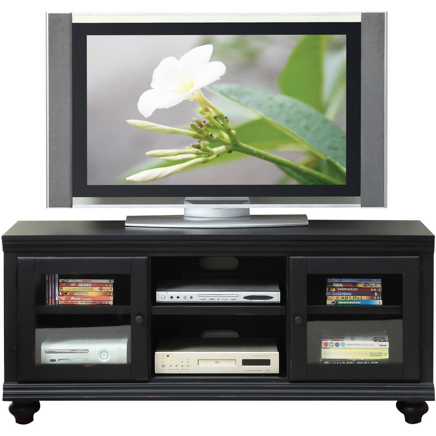 "ACME Barra TV Stand for Flat Screens TVs up to 60"", Black"