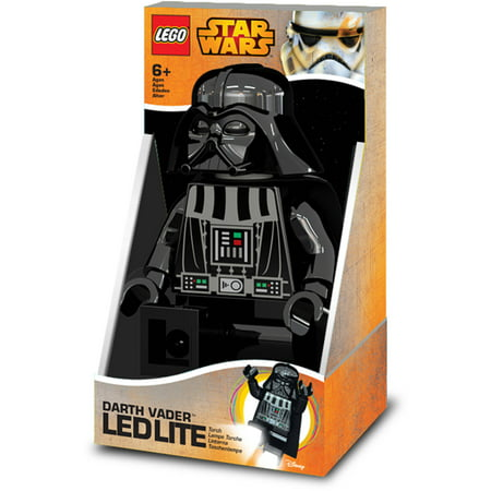 LEGO Star Wars Darth Vader Torch, Batteries Included