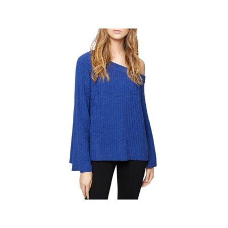 Alpaca V-neck Pullover - Sanctuary Womens Aurelia Alpaca Blend One Shoulder Pullover Sweater