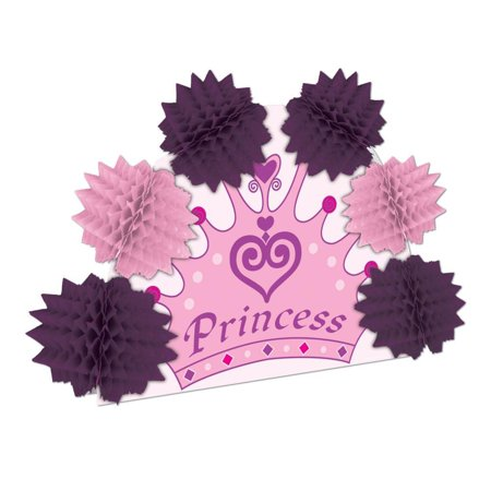 (Pack of 12) Princess Crown Pop-Over - Wire Crown Centerpieces