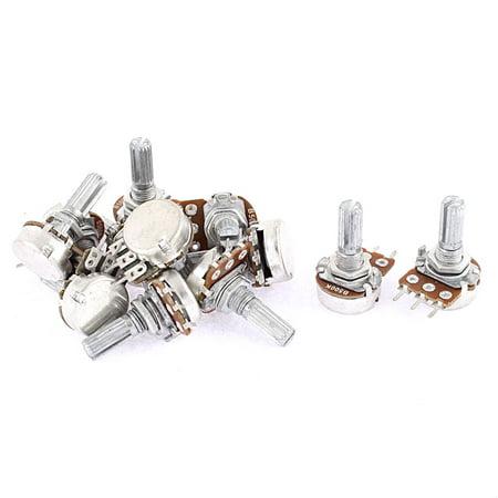 Guitar Pots Audio Tone Potentiometer Switch B500k Replacement 12pcs