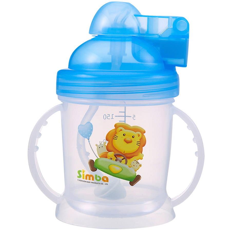 Simba 6 oz Pop Lid Training Cup, Blue by Simba