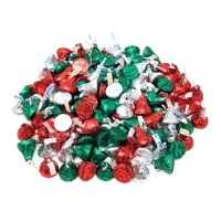 Christmas Candy Hershey's Kisses Holiday, Milk Chocolate Caramel Candy Mix, Bulk (Pack of 2 Pounds)