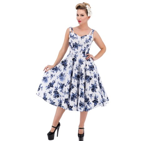 16306c230e9b Hearts and Roses of London - Hearts   Roses of London China Doll Rose Swing  Dress