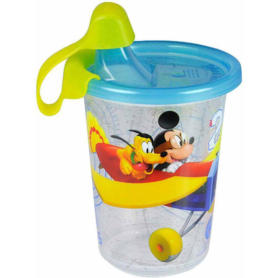 The First Years Disney Baby Mickey Mouse Take and Toss Sippy Cup, 10 oz, 3pk