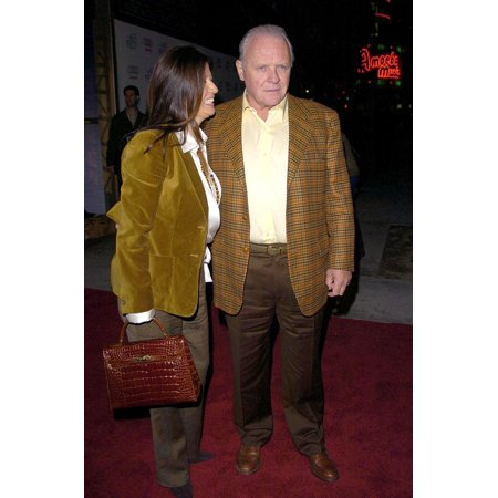 Anthony Hopkins Stella Arroyave At Arrivals For The WorldS Fastest Indian Afi Fest Audi Centerpiece Gala The Arclight Hollywood Cinema Los Angeles Ca November 08 2005 Photo By David LongendykeEverett
