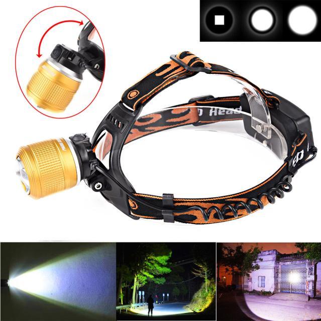 5000LM CREE XM-L T6 LED Headlamp Headlight Flashlight Head Light Lamp 18650