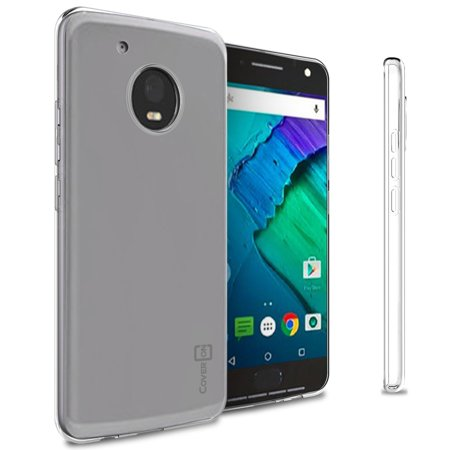 CoverON Motorola Moto X (2017 Version) / G5 Plus Case, FlexGuard Series Soft Flexible Slim Fit TPU Phone (Moto X Best Phone Ever)