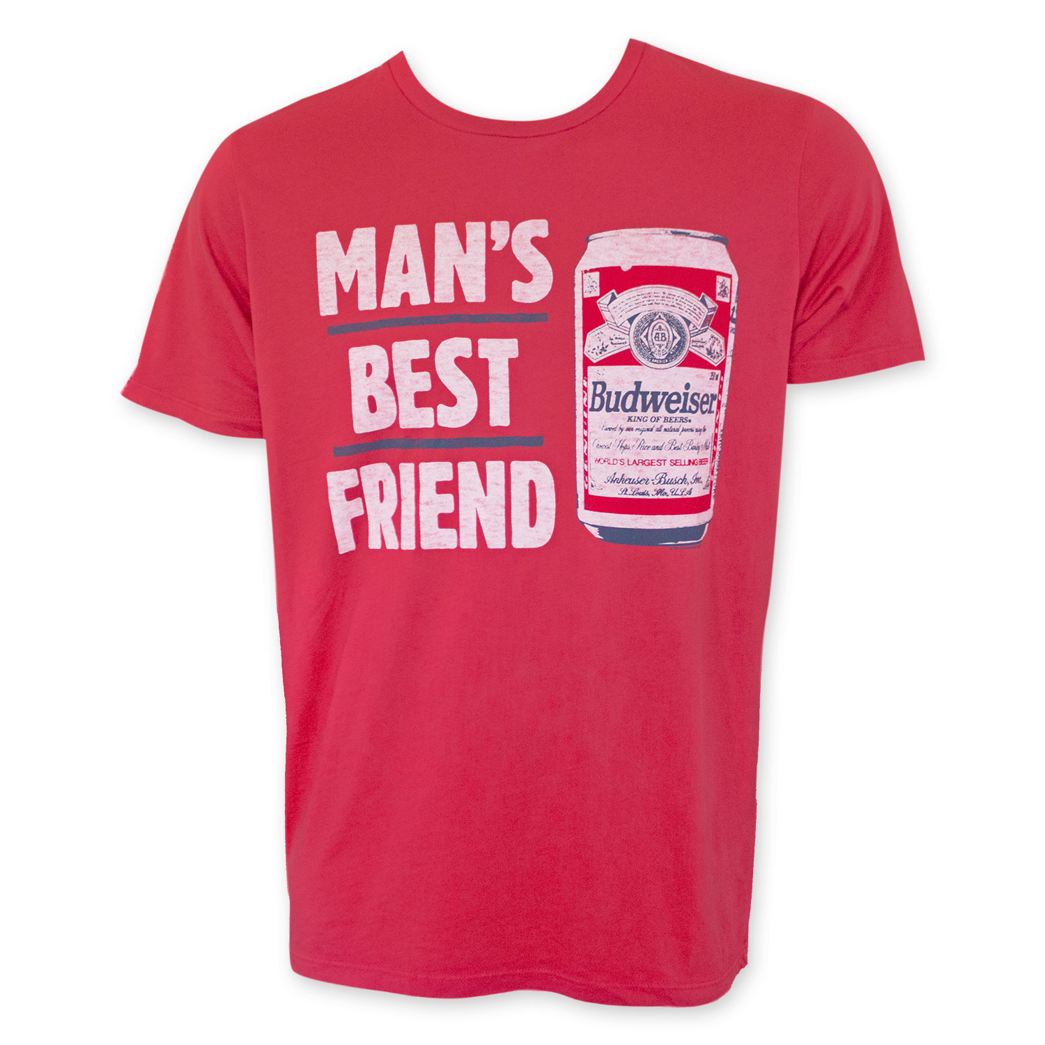 Budweiser Man's Best Friend T-Shirt